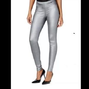 Style & Co Silver Pull On Jeggings NWT Size Small